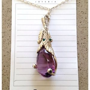 Jewelry - NWT .925 silver pendant necklace🎉2xHP🎉